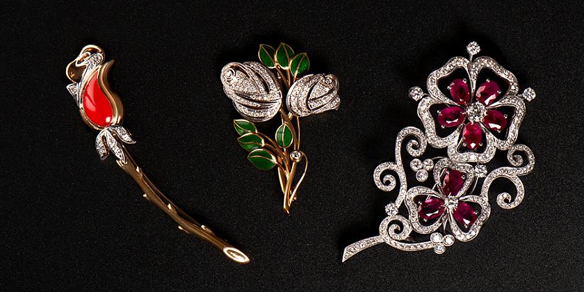 Ювелирные украшения бренда Lazurit & K